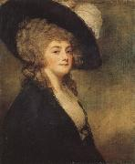 George Romney Mrs.Harriet Greer oil